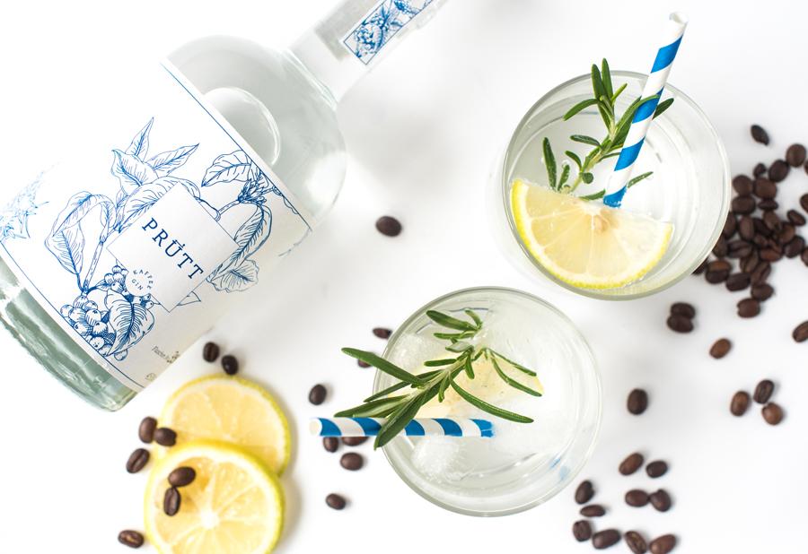 Gin Sour mit Kaffee-Gin Prütt