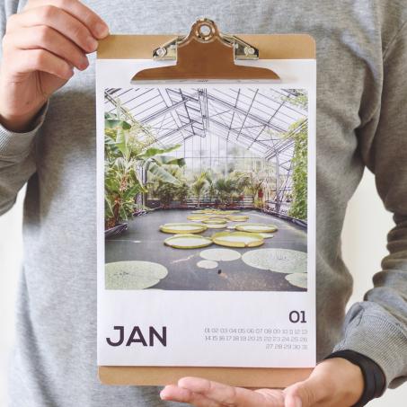 Kalender 2018 mit Motiven aus dem Ruhrgebiet