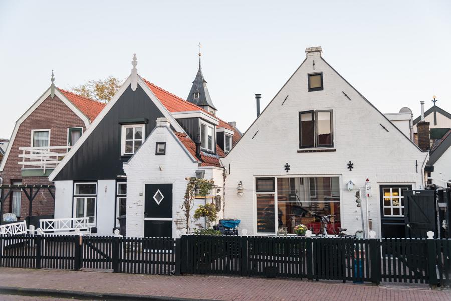 Häuser in Urk am IJsselmeer