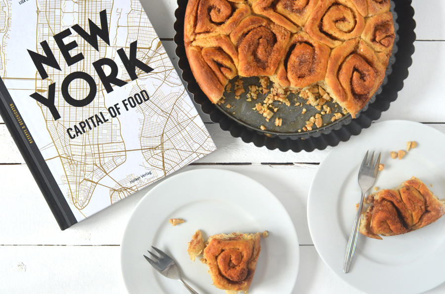 Cinnamon Rolls Zimtschnecken New York