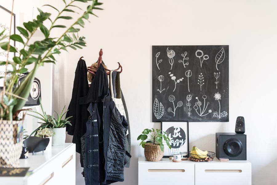 Küche mit alter Garderobe