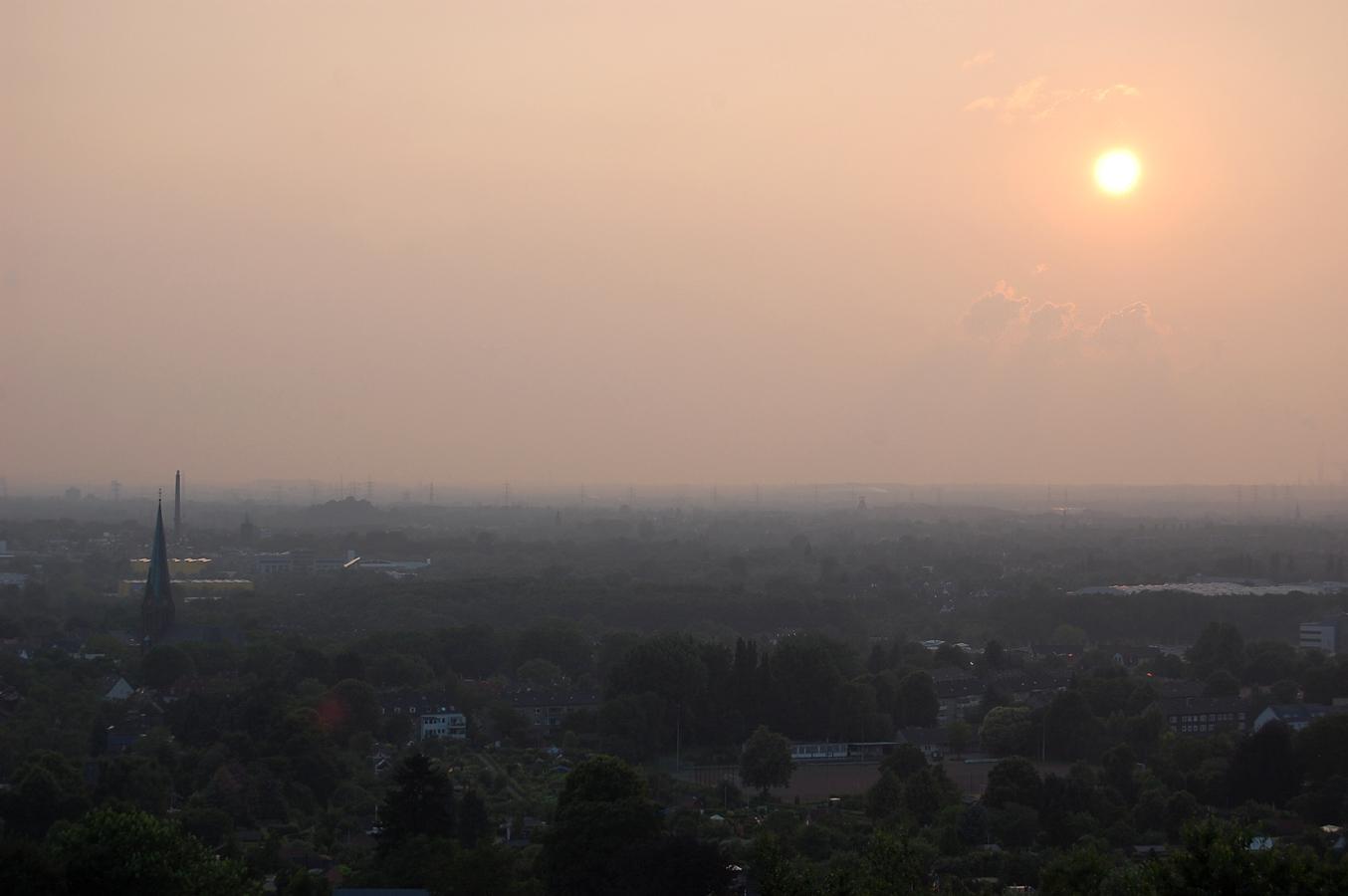 Tippelsberg Bochum Sonnenuntergang