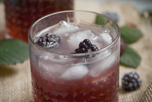Gin Bramble Cocktail