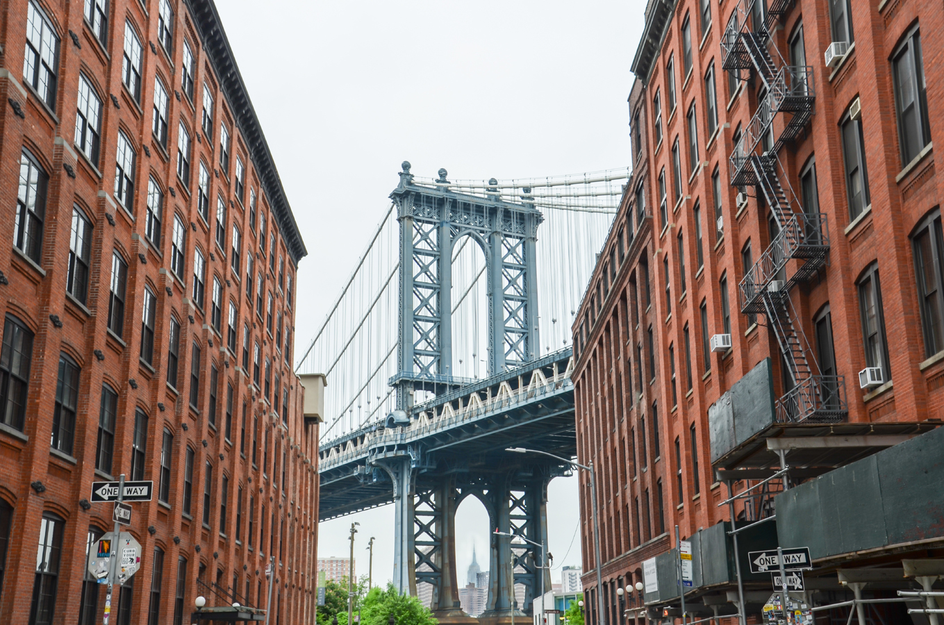 Manhattan Bridge Dumbo Brooklyn