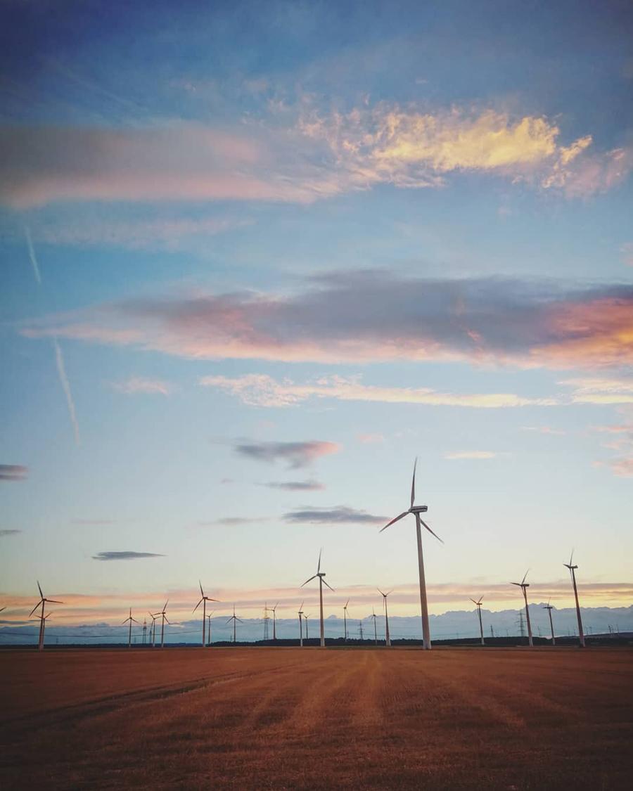 Marsberg Meerhof Windkraftanlage