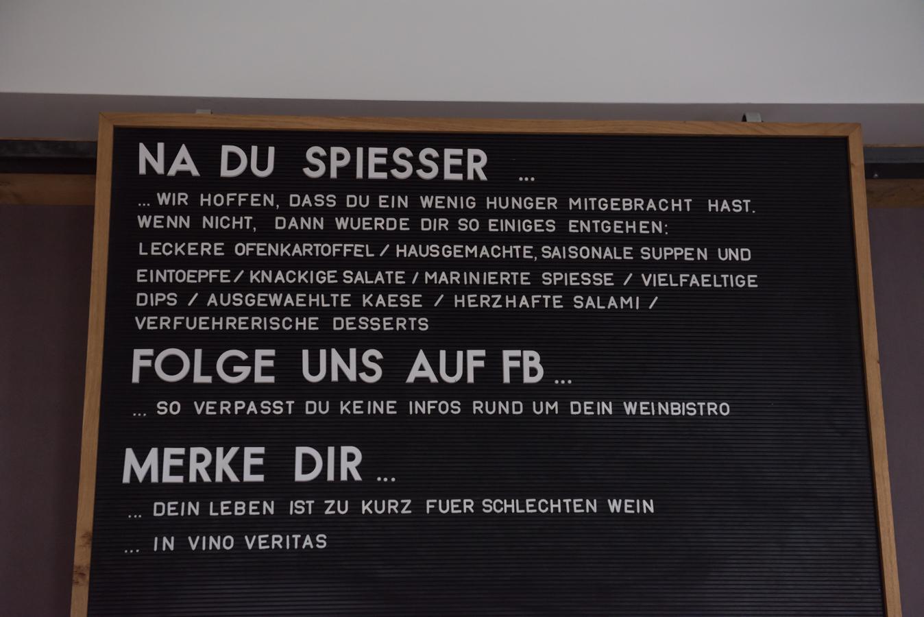 Weinbistro Spiesser Essen Rüttenscheid