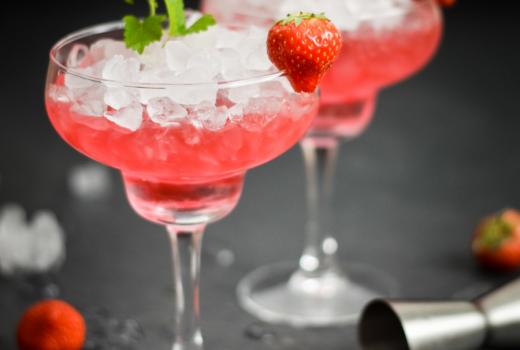 Rezept Gin mit Erdbeermarmelade