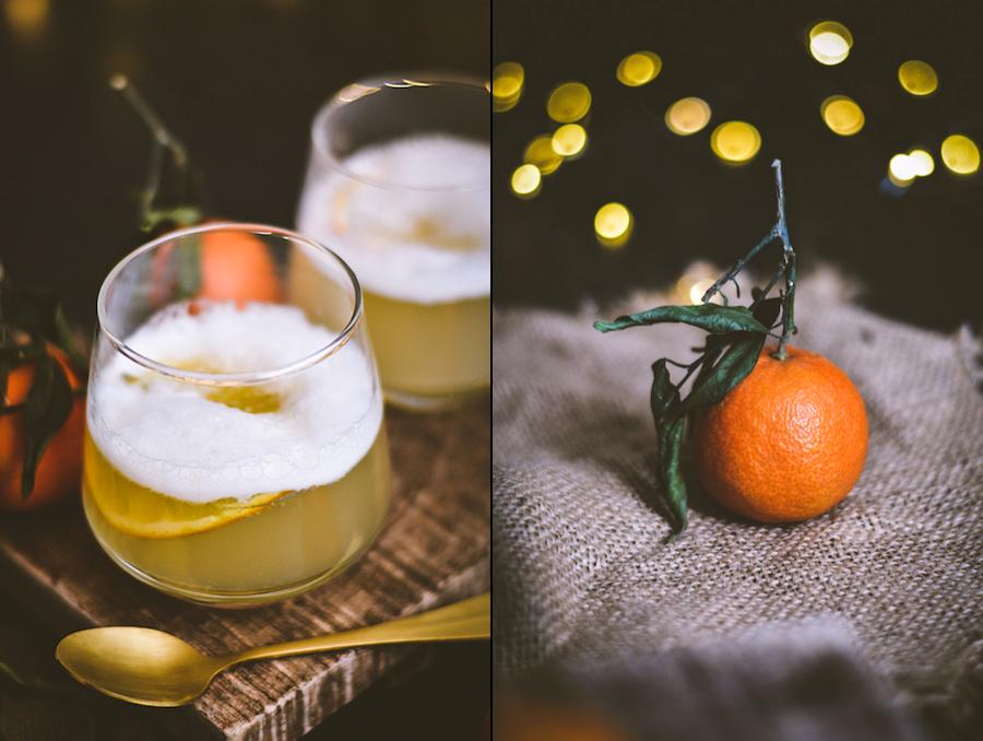 Rezept Gin Sour mit Mandarine und Eiwei?