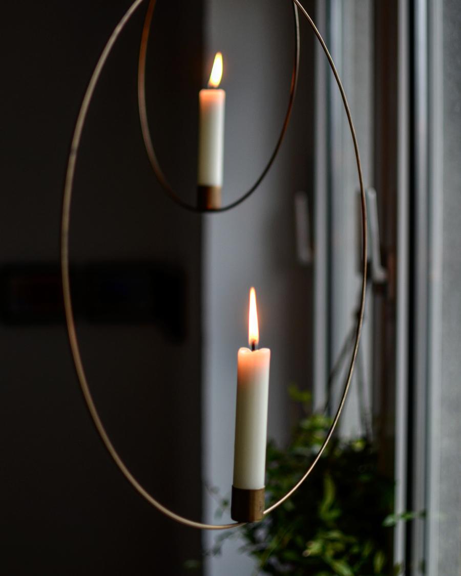Kerzenringe Weihnachten