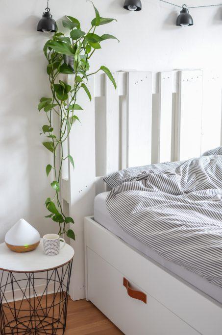 Ikea Hacks Brimnes Bett Schlafzimmer