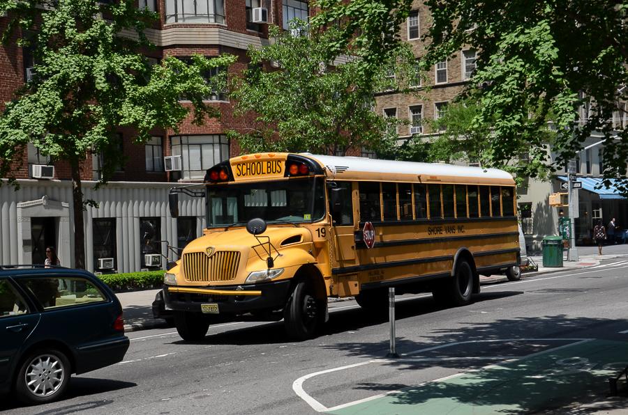 Schulbus in New York
