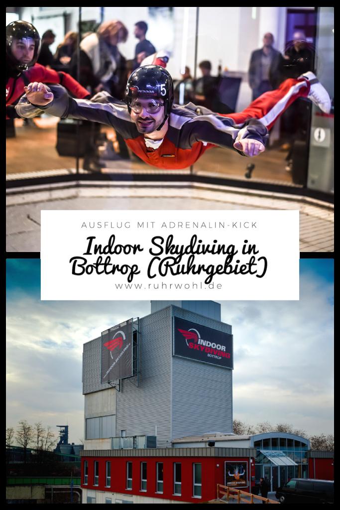 Ausflug im Ruhrgebiet: Tipp Indoor Skydiving in Bottrop