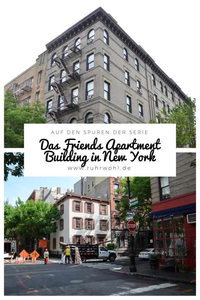 Friends Gebäude in New York Adresse finden #newyork #friends #tv #greenwichvillage #friendsapartment