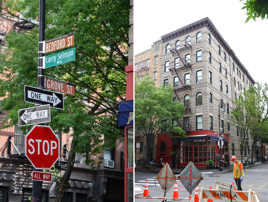 Friends Gebäude in New York Adresse