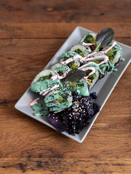 Kimbap Spot Bochum veganes Sushi und Bowls im Ruhrgebiet #sushi #vegan #foodspot #gastrotipp