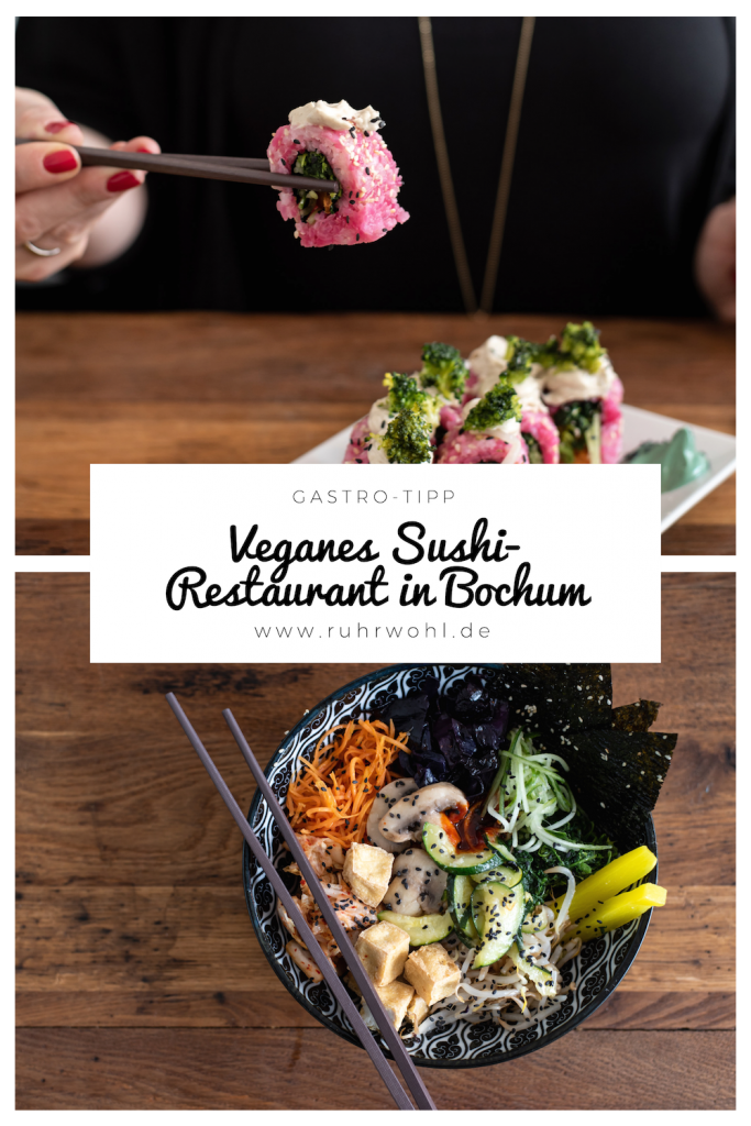Veganes Sushi, Korean Soulfood auf rein pflanzlicher Basis, #sushi #bowls #healthyliving #gastrotipp #bochum