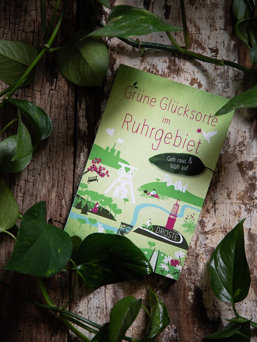 Buchtipp: Grüne Glücksorte im Ruhrgebiet, Ausflugstipps in die Natur, grünes Ruhrgebiet, Parks und Seen zwischen Duisburg und Dortmund