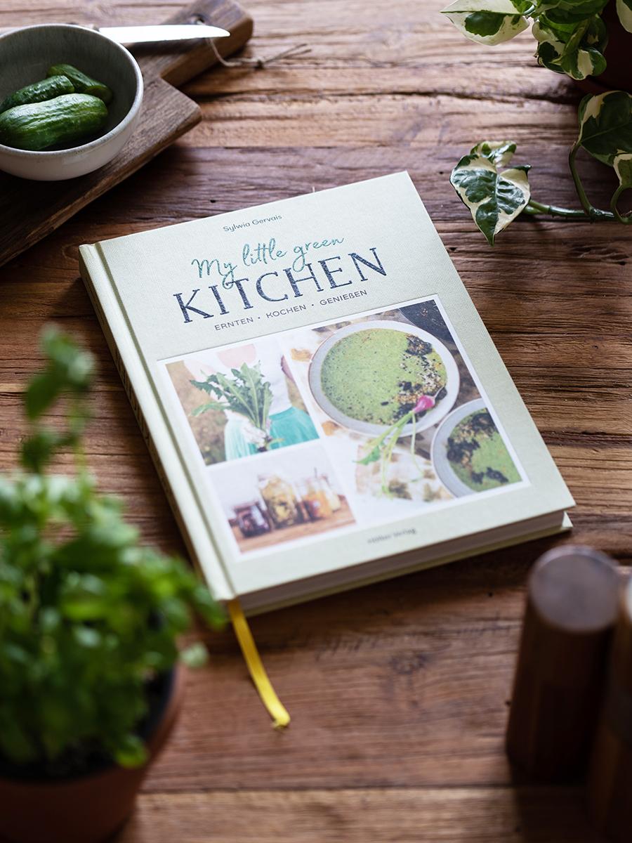 Buchempfehlung: My little green Kitchen, vegane, gesunde Rezepte mit Obst und Gemüse aus der Region