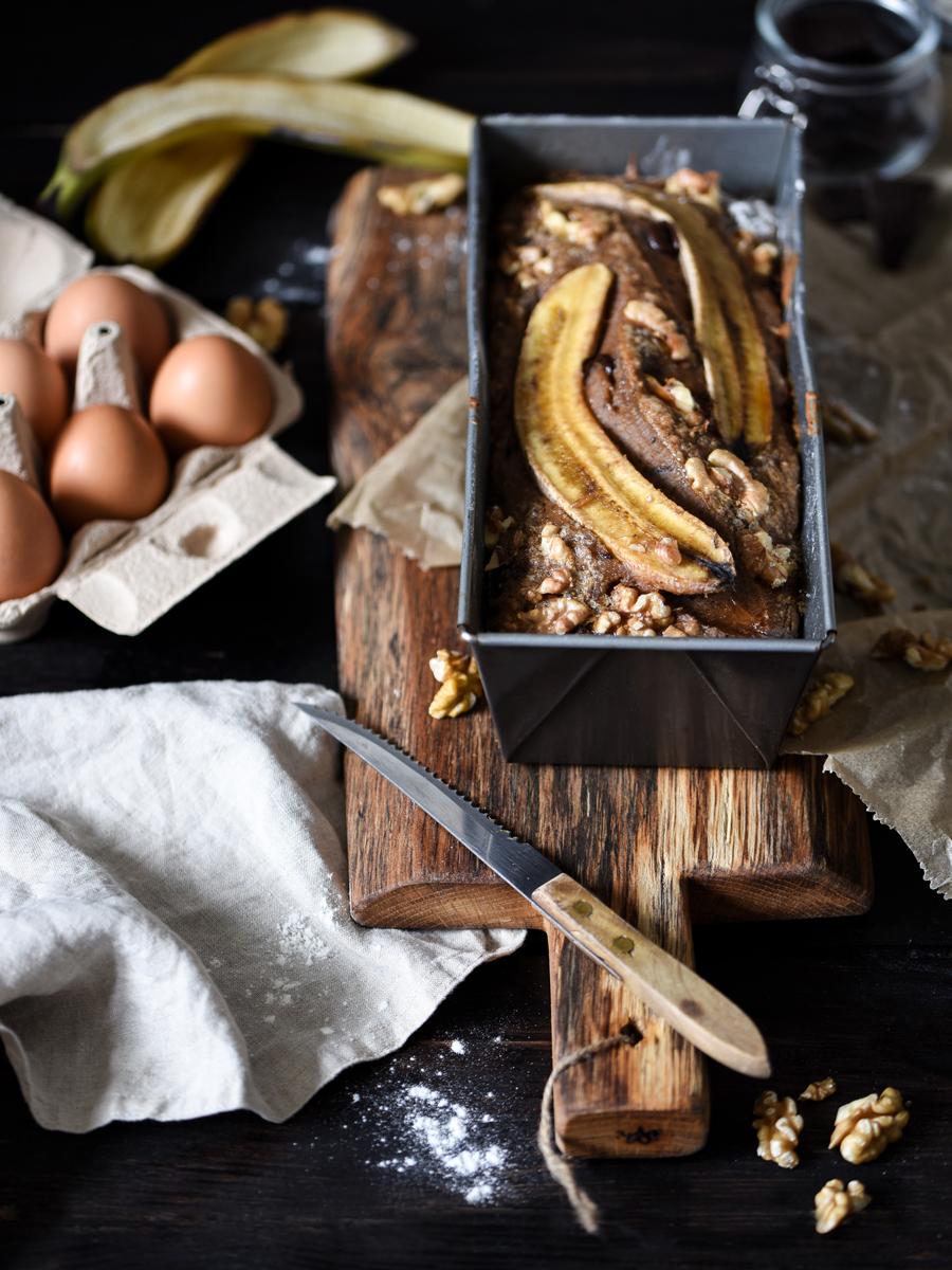 Bananenbrot backen: Eine gute Kuchenalternative für mehr Wohlbefinden