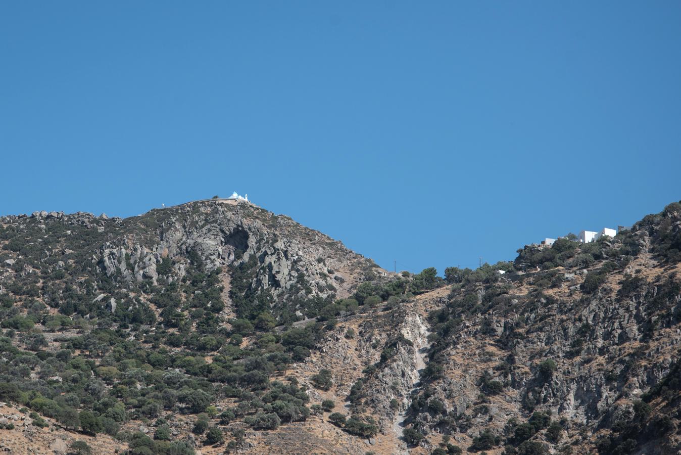 Bergdörfer auf Nisyros in Griechenland
