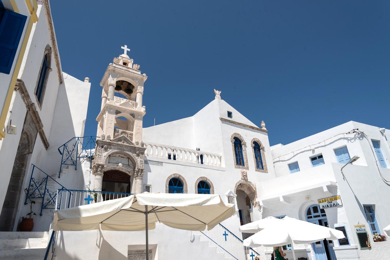 Bergdorf Nikia auf der Insel Nisyros in Griechenland: Urlaub, wo es am schönsten ist