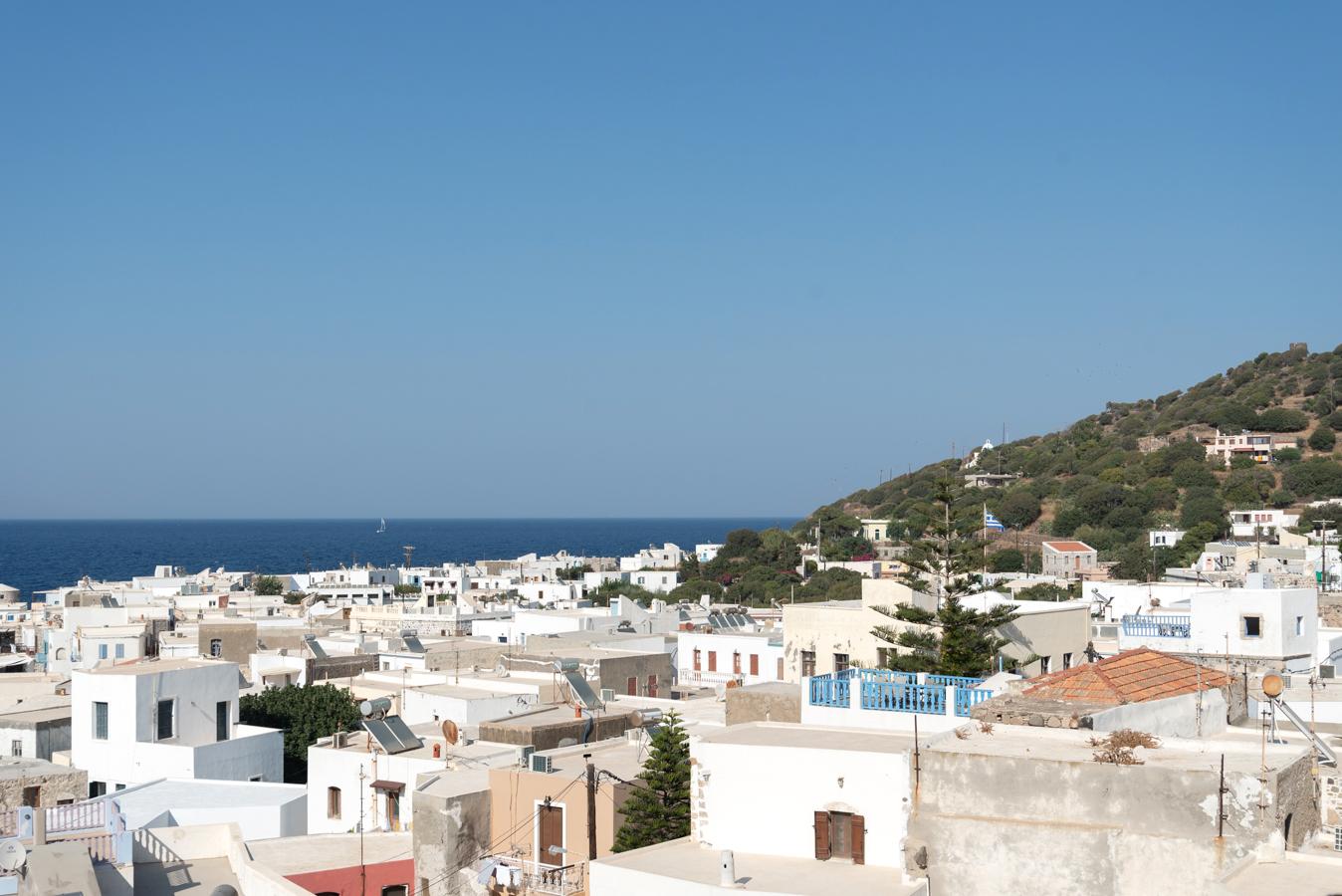 Hafenstadt Mandraki auf Nisyros in Griechenland: Ideal für einen Ausflug