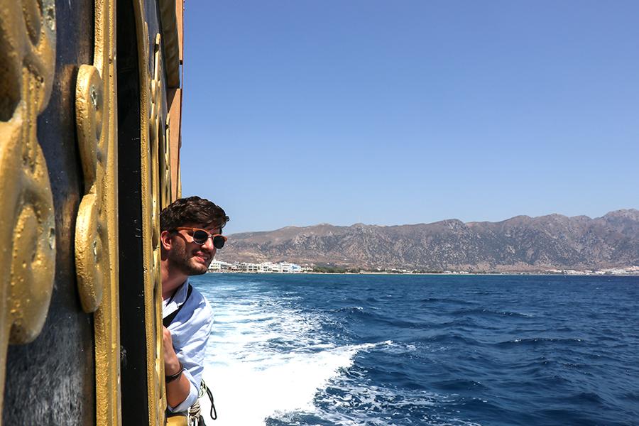 Fahrt Kos Nisyros in Piratenschiff