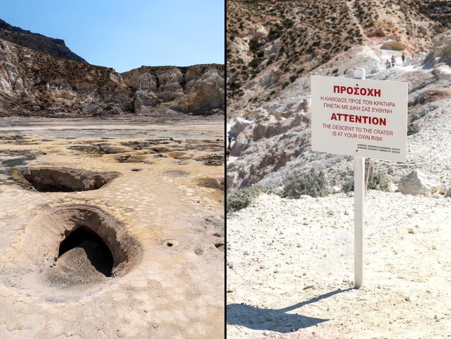 Griechenland-Urlaub: Stephanos Krater auf Nisyros