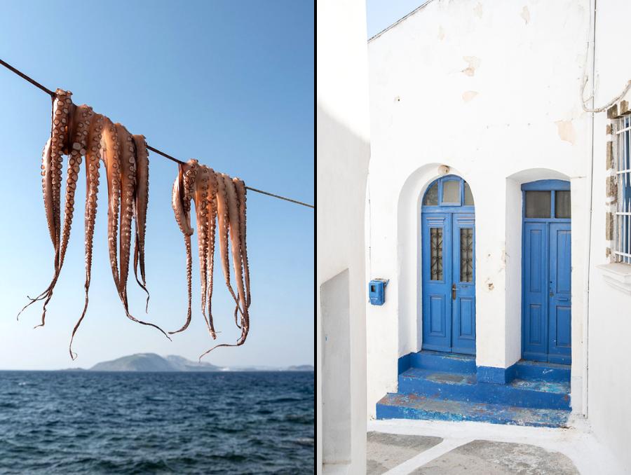 Insel Nisyros in Griechenland Ägäis