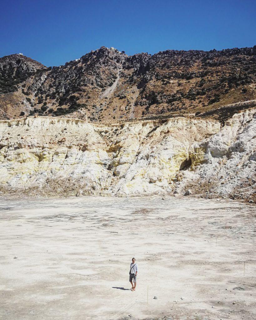 Griechenland-Urlaub: Stephanos-Krater auf Nisyros
