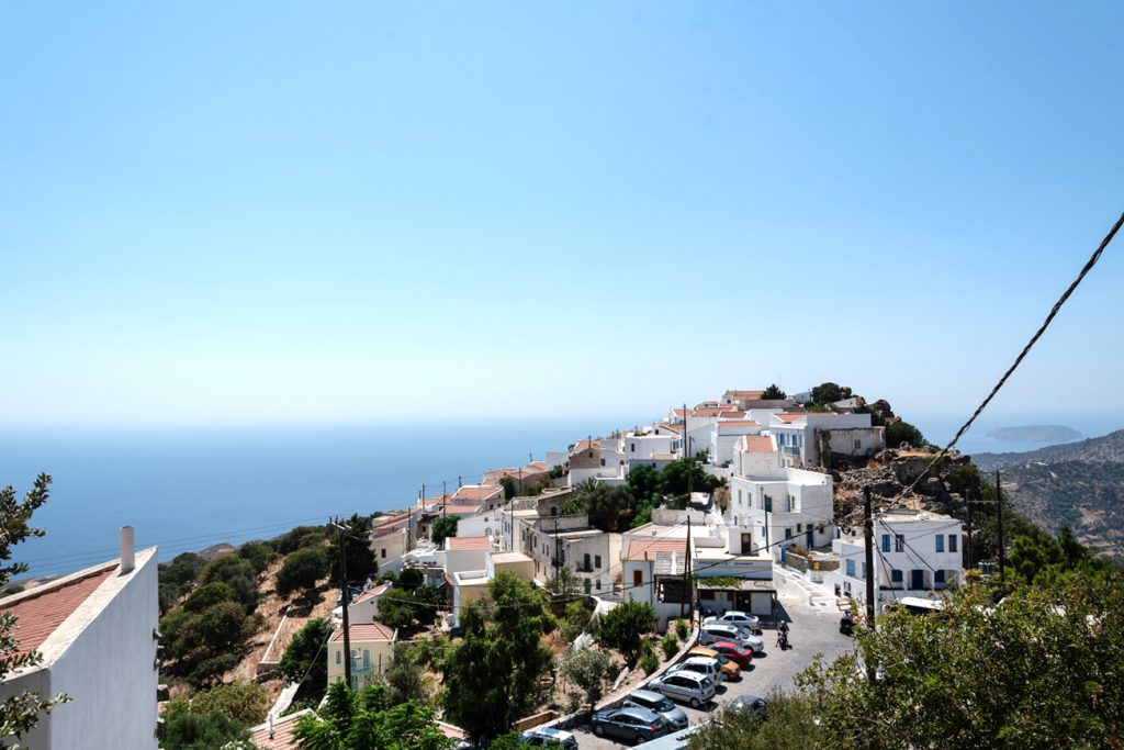 Nikia: Bergdorf in Griechenland auf der Insel Nisyros