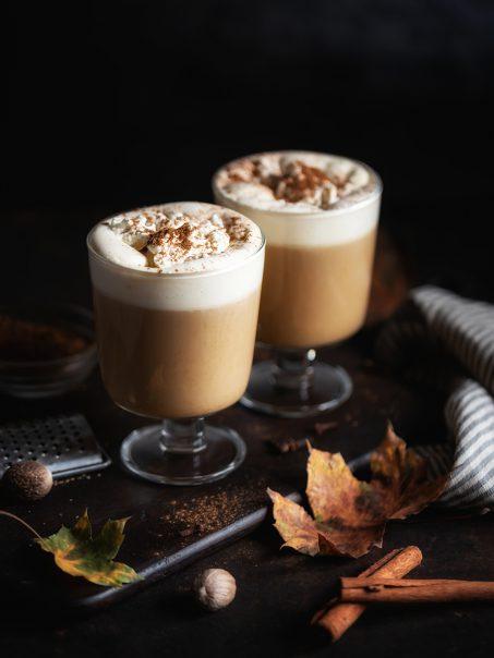 Pumpkin Spice Latte selber machen Rezept vegan