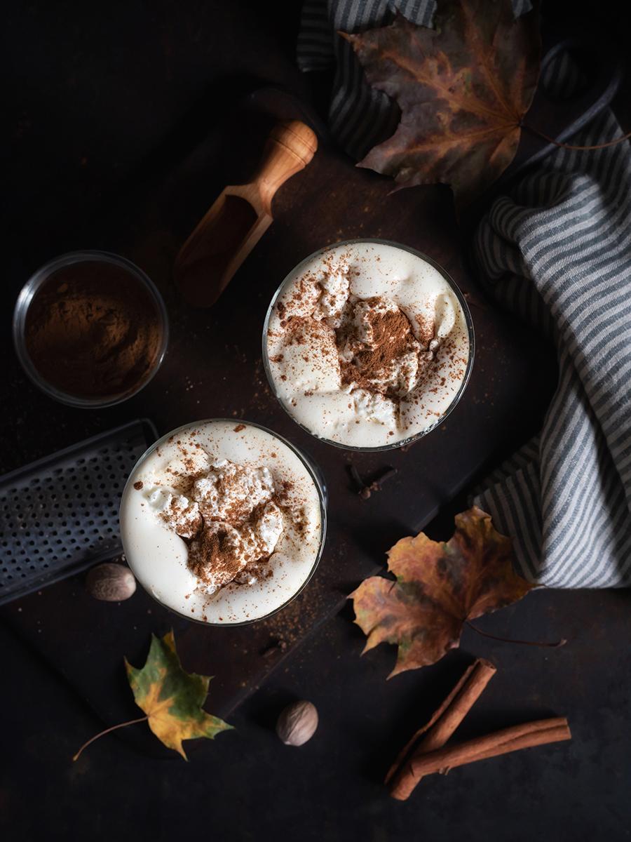 Rezept für Pumpkin Spice Latte, einfach selber machen