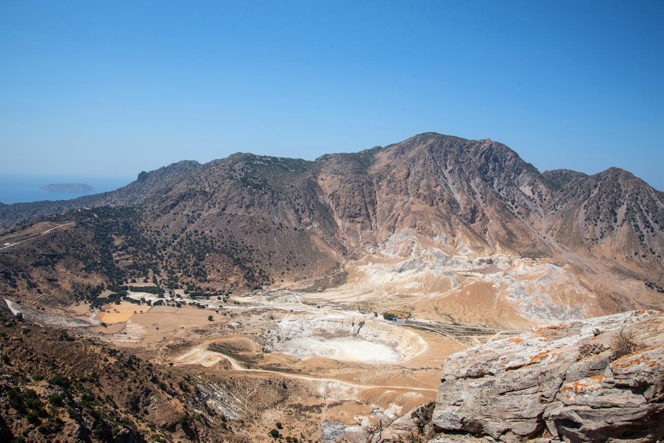 Griechenland-Urlaub: Stephanos Krater auf Nisyros von Nikia aus