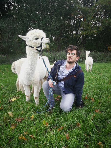 Wandern mit Alpakas Ruhrgebiet Nähe Bochum