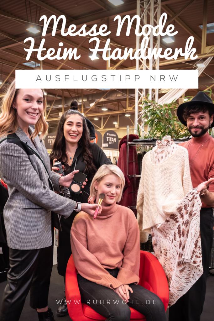 Ausflugstipp für NRW: Die Messe Mode Heim Handwerk in Essen besuchen