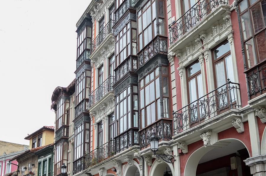 Aviles in Spanien