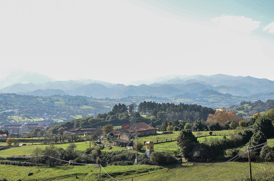 Wandern in Oviedo im Norden Spaniens