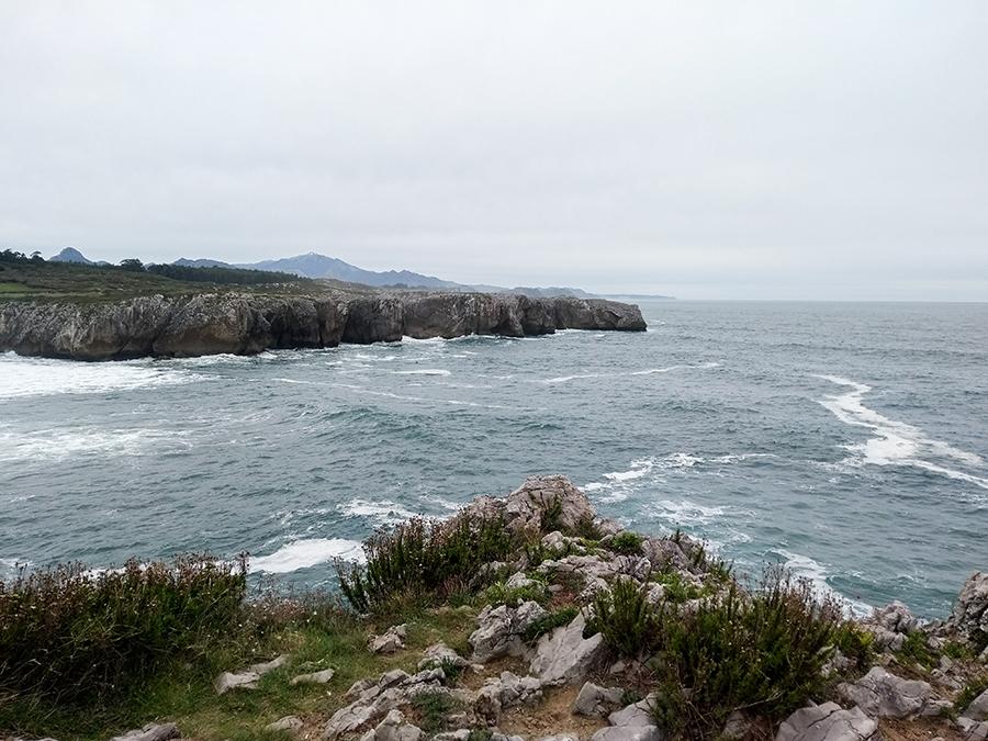 Aviles in Spanien, an der grünen Küste des Landes