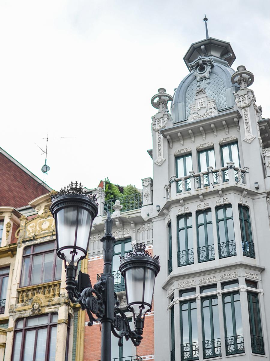 Reise nach Oviedo, Spanien