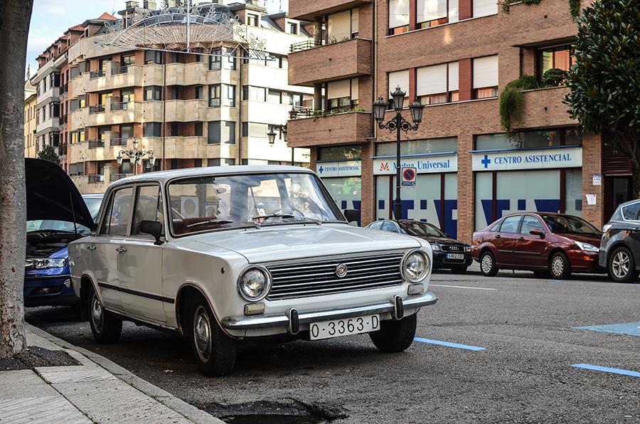 Auto in Oviedo, Spanien