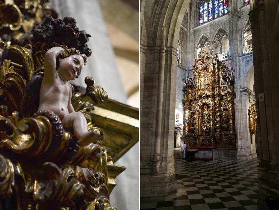 Kathedrale in Oviedo, Asturien